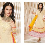 Zobi Fabrics Indian Party Wear Dresses Collection 2014-15 3