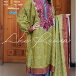 Aroshi Embroidered Classics Winter Dresses Collection 2014-15 11