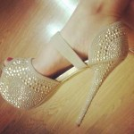Bridal High Heels shoes collection 2014-15 1