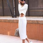 Cool Strategies to Pull Off Skirts and Footwear Vogue (5)