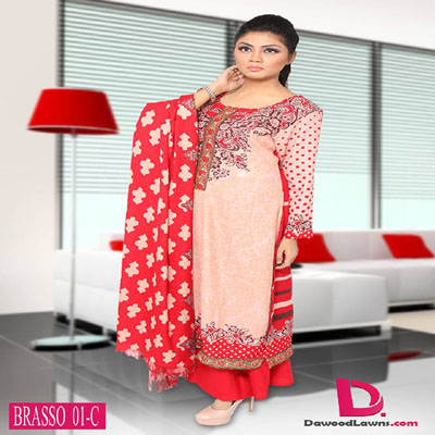 Dawood Winter Fall Dresses Collection 2014-15 2