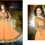 Floor Touch Padded Hottest Anarkali Clothes For Ladies (3)