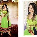 Floor Touch Padded Hottest Anarkali Clothes For Ladies (5)