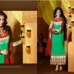 Jennifer Winget By Saheli Couture  Party Chic Garments Collection 2014-15 (1)