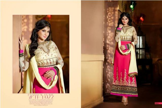 Jennifer Winget By Saheli Couture  Party Chic Garments Collection 2014-15 (7)