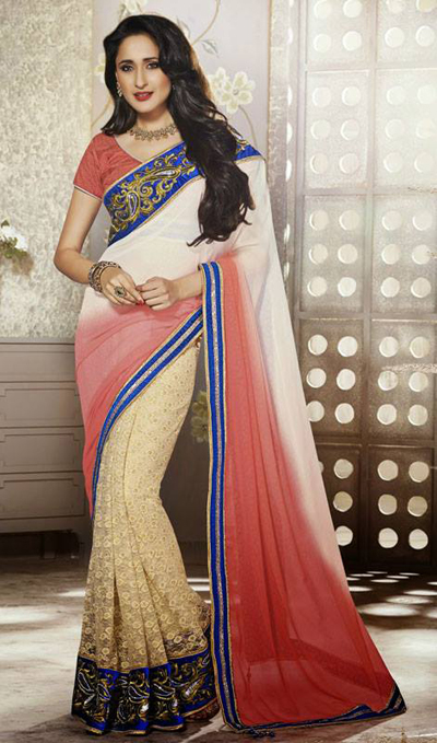 Lovely Evening Wear Saree Collection 2014-15 9