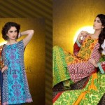 Mashaal Embroidered Shawl Collection 2014-15 2