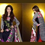 Mashaal Embroidered Shawl Collection 2014-15 3
