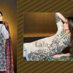 Mashaal Embroidered Shawl Collection 2014-15 8