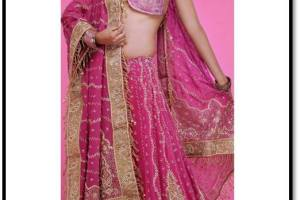 Net Lehenga Choli & Duppata By Utsav Fashion 2015 For Girls (7)