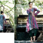 Rabea Kurti Collection 2014-15 By Shariq Textile 3