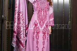 Trencia Satin Silk From GulAhmed Fall Winter 2014
