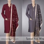 Daaman Winter Dresses Collection 2014-15 1