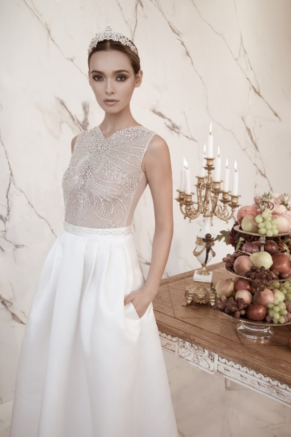 Lior Charchy Stylish Marriage Clothes 2014-15 For Girls (4)