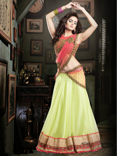 Readymade Bridal Lehengas Collection 2014-15 2