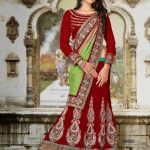 Wedding Wear Lehenga Sarees 7