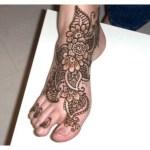 New Feet Tattoos Designs For Girls (1)