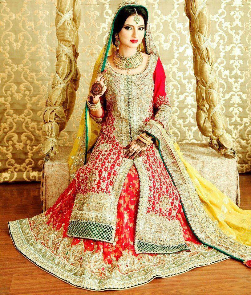 Latest Wedding Bridal Lehnga Art