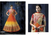 Heavy Wedding Anarkali Dresses 2015 for Ladies (2)