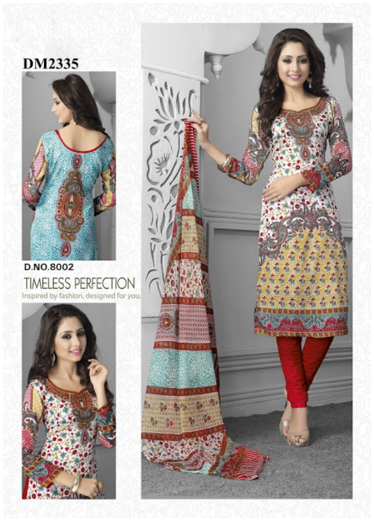 Indian Churi-dar Salwar Kameez Design (1)
