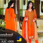 Amna Ismail Semi stitched Chiffon Collection 2015 2016