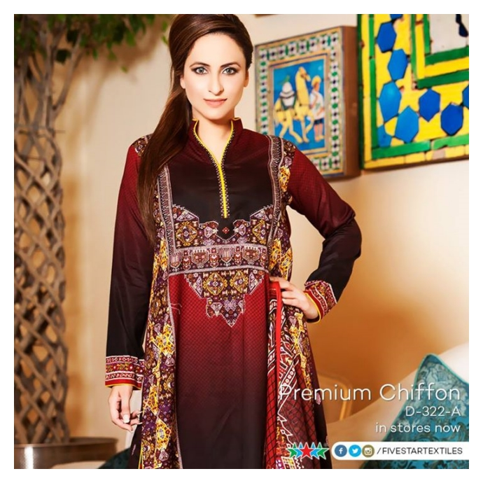 Five Star Textiles Eid Ul Azha Collection 2015 For Girls