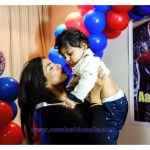 pakistani Model Mathira Child birthday Pics
