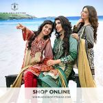 Lawn design House of Ittehad's Eid Collection