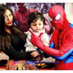 Model Mathira kids first Birthday celebration pictures