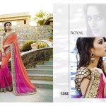 Royal Latest Saree Designs 2015-16 for Weddings