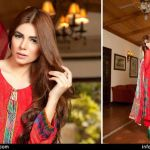 Rujhan Fabric Zikril Embroidered Swiss Voile Collection 2015-16 for women (1)