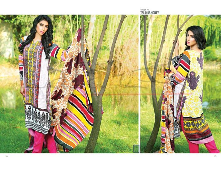 Lala Indonesian Linen 2015-16 Volume 1 Winter Collection For Women (4)