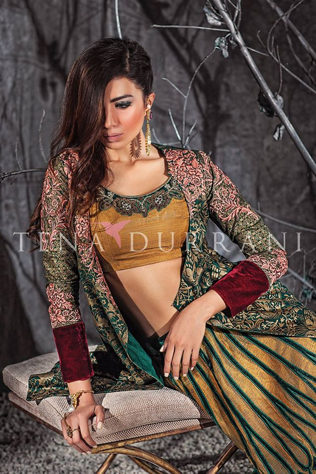Tena Durrani Winter Party Wear Collection for Women 2015 (2)