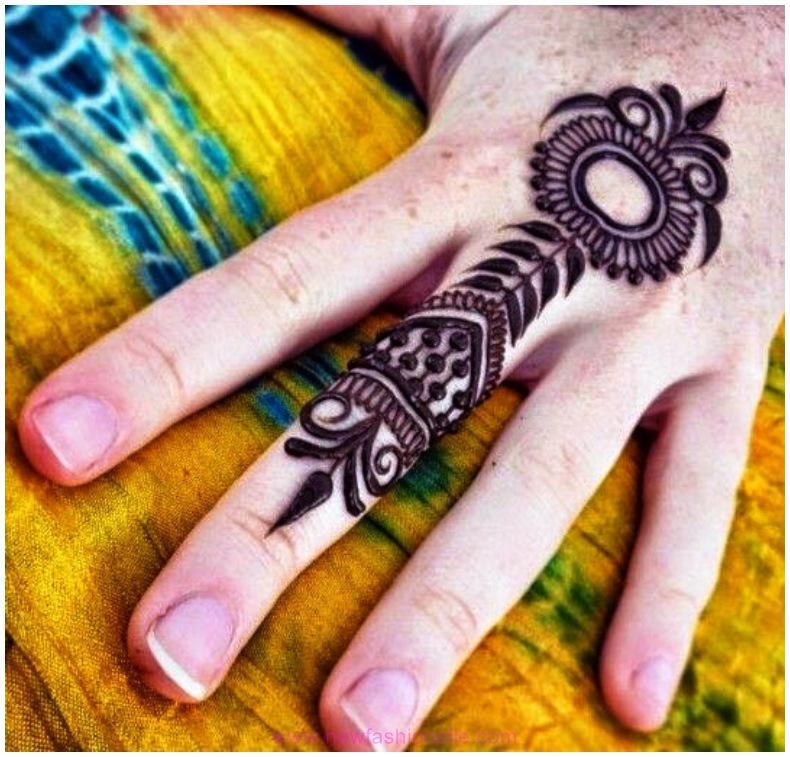 Best Finger Mehndi Designs for Wedding