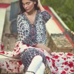 Mina Hasan Embroidered Fabrics 2016 Volume 2