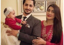 Ayeza Khan Celebrate her Birthday with Baby