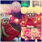 Ayeza Khan Celebrates her first Birthday after marriage with Baby