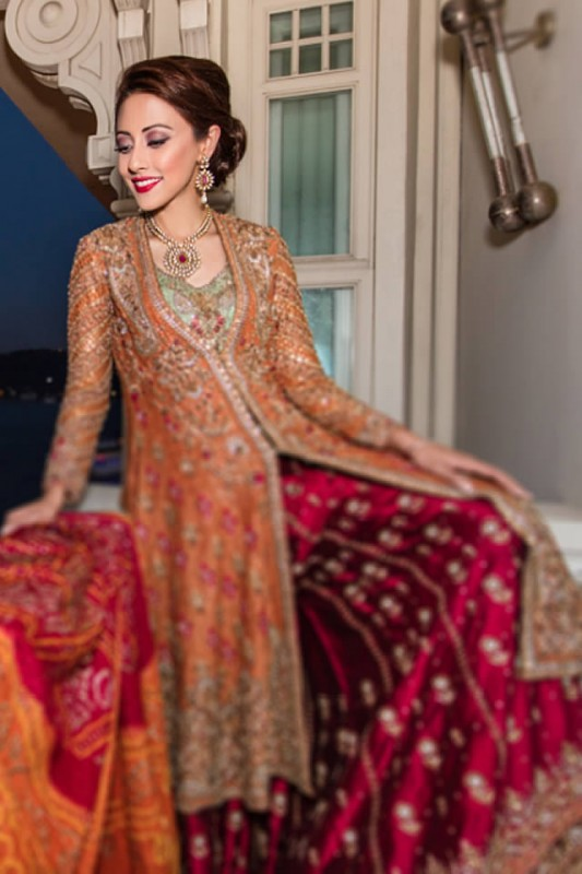 Designer Farah Talib Aziz Bridal Dresses collection 2016,