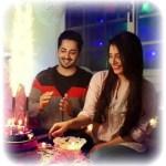 Danish Taimoor & Ayeza Khan Birthday 2016 Pictures