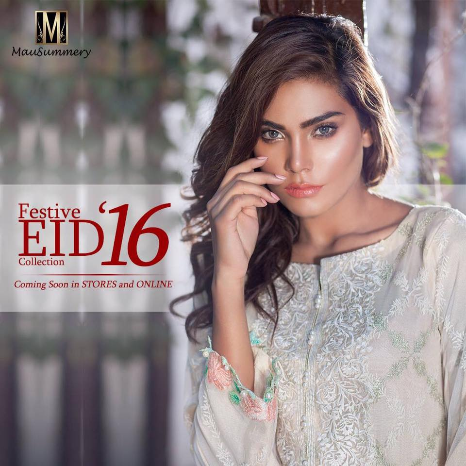 Mausummery Eid Ready to Wear Collection 2016 Prices