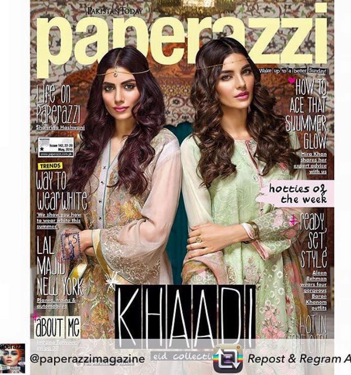 Pakistani fashion of Khaadi Eid Collection 2016