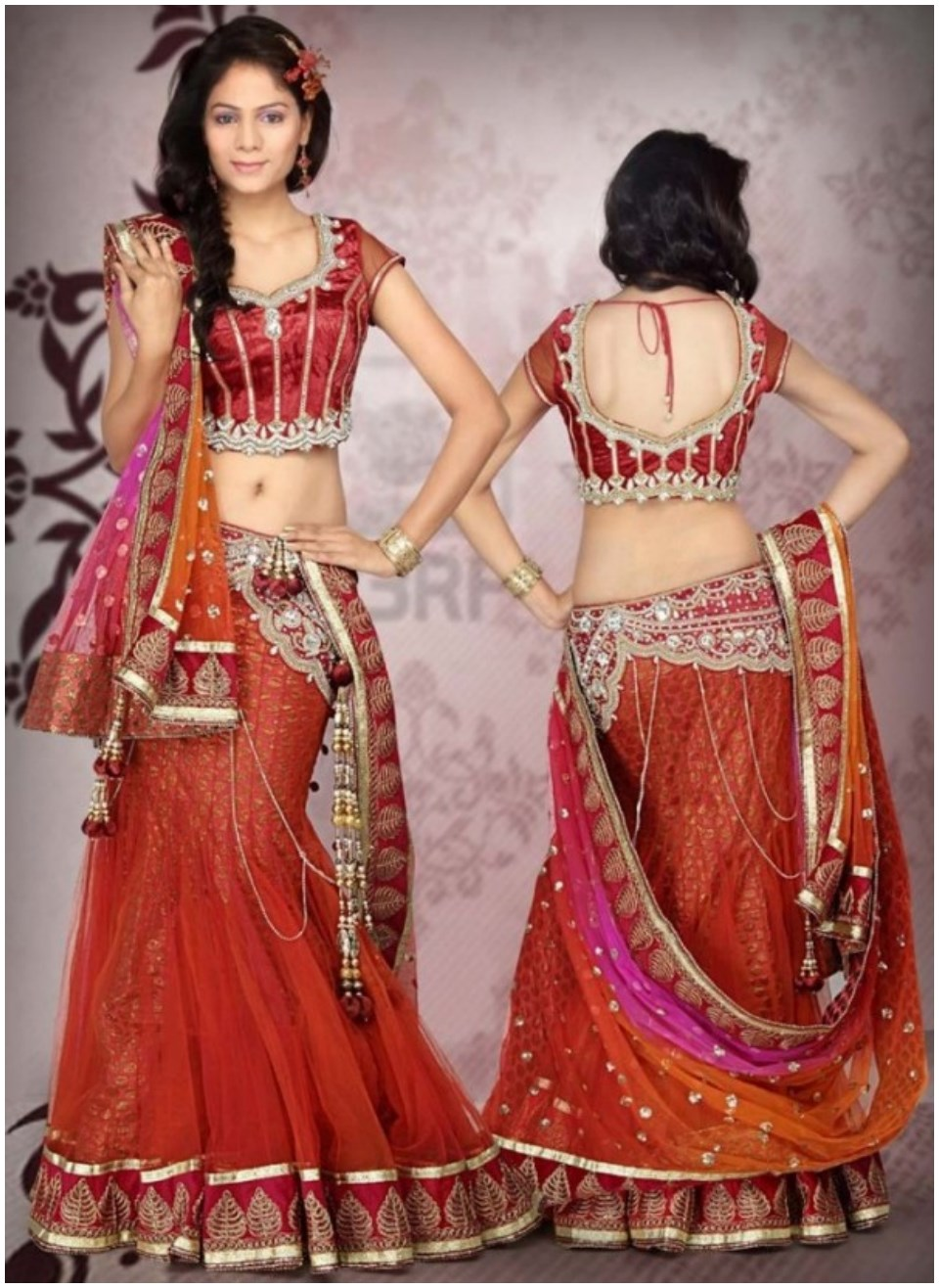 Latest Blouse Designs For Indian Sarees
