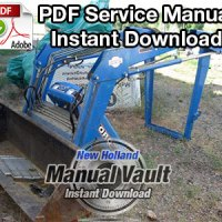 Ford 700 Series Tractor Attachments Service Manual