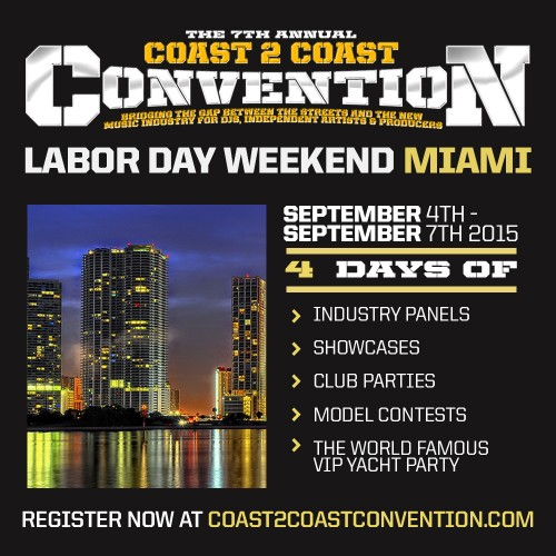 Music Conference: Coast 2 Coast Convention 2015