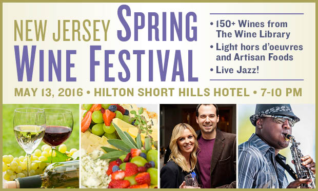 New Jersey Wine events - Spring Wine Fest