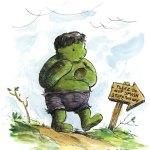 Winnie The Hulk