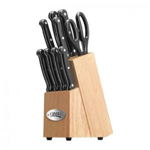 The Ginsu Essential Series Stainless Steel 10-Piece Cutlery Set