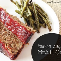 Brown sugar meatloaf recipe