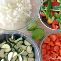 Eight healthy freezer crockpot meals in 75 minutes