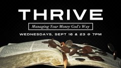 Thrive Managing Finances